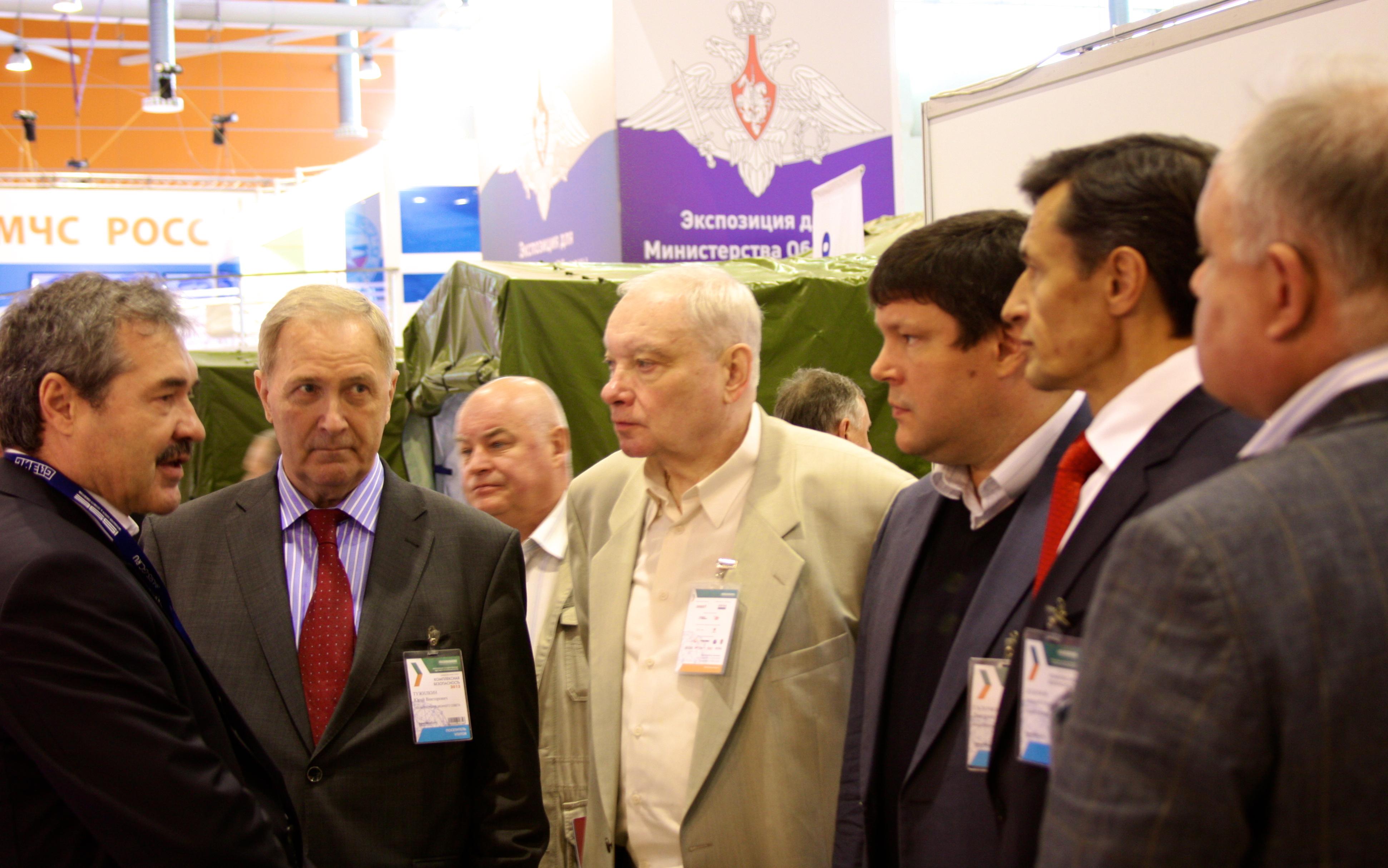 Члены палаты ПСО продемонстрировали свою продукцию и услуги на выставке Комплексная безопасность