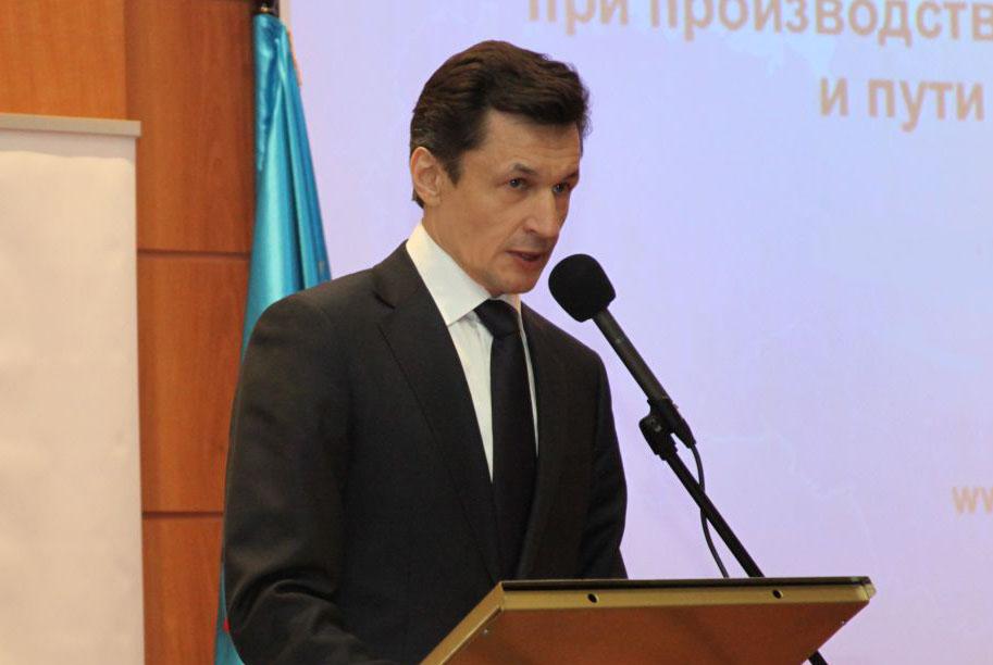Председатель Федеральной Палаты Додонов А.Е. выступил на пленарном заседании выставки по безопасности, которая открылась в Санкт-Петербурге.