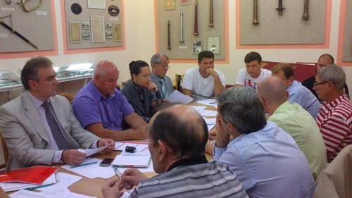 Состоялось заседание секторного комитета по противопожарным преградам