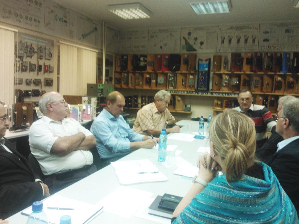 В конференц-зале компании ИПК Страж состоялось заседание по вопросам автоматической идентификации продукции.