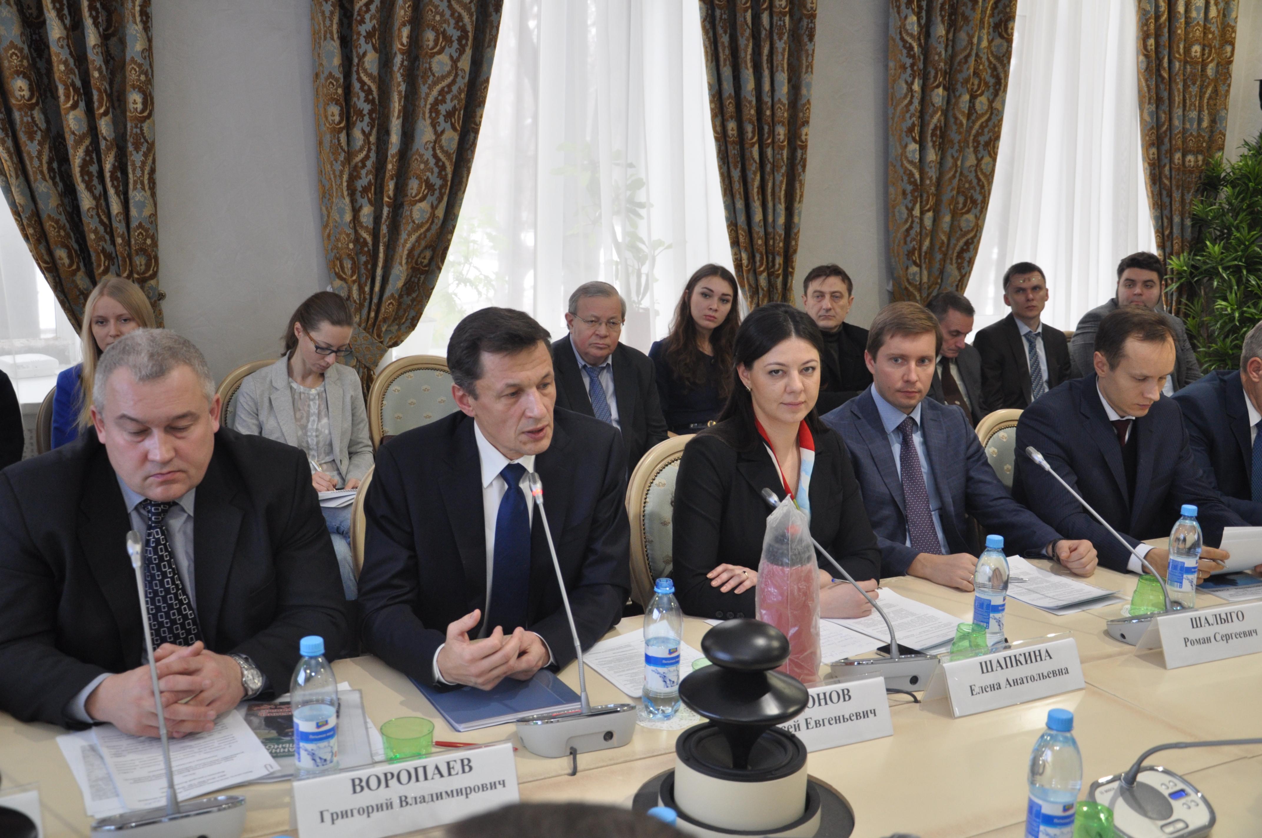 В Общественной палате Российской Федерации состоялся круглый стол: «Качество продукции и услуг в области пожарной безопасности».